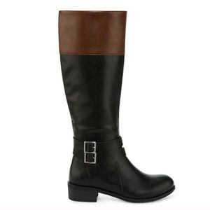 NEW!!! Wide Calf Riding Boots w Memory Foam